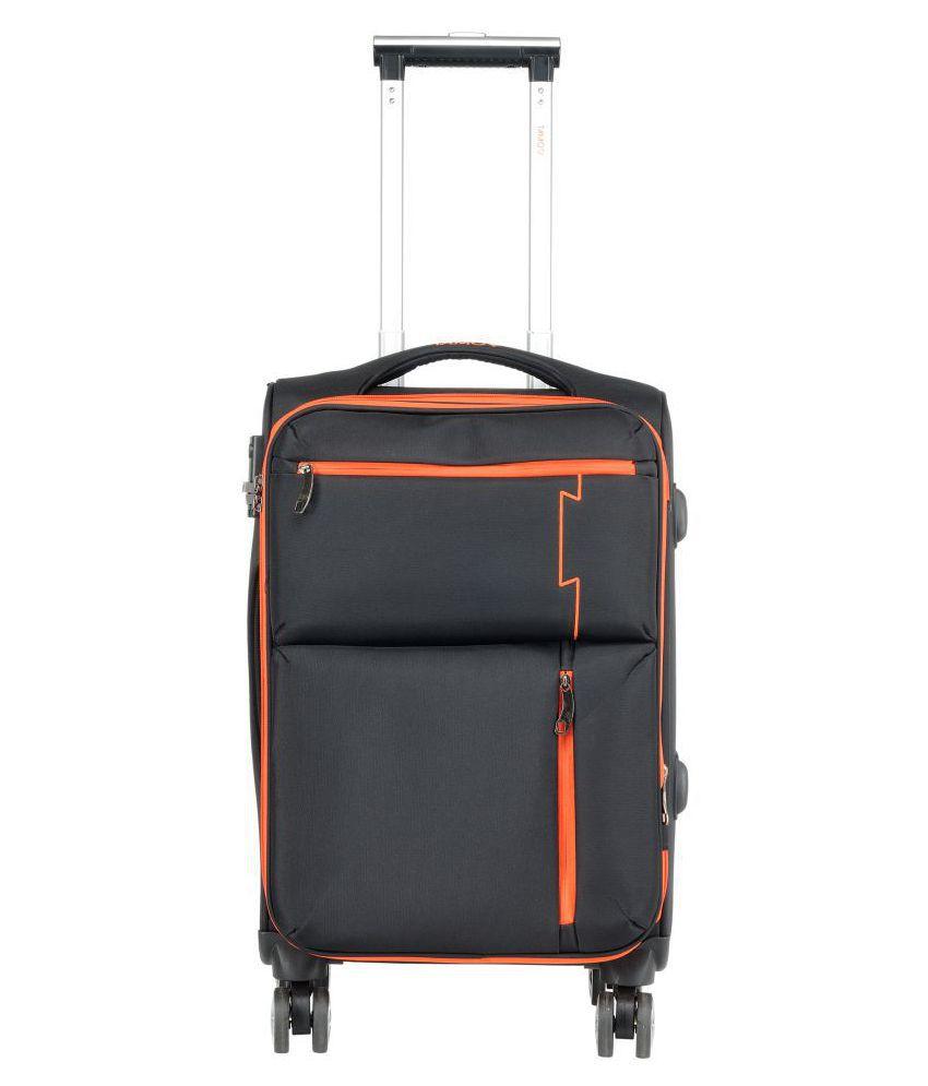 Tamo Black S (Below 60Cm) Cabin Soft Odyssey Luggage