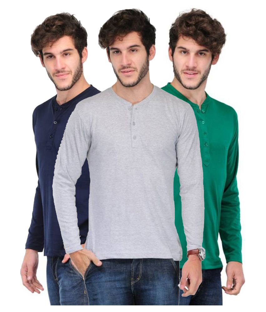 Van Galis Multi Round T-Shirt Pack of 3