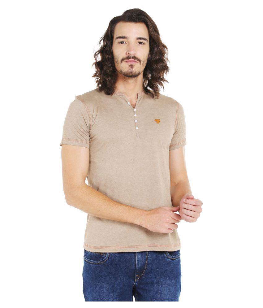 LAWMAN PG3 Beige Round T-Shirt