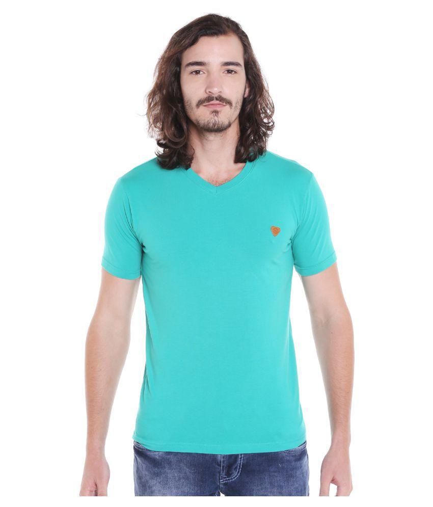 LAWMAN PG3 Green V-Neck T-Shirt