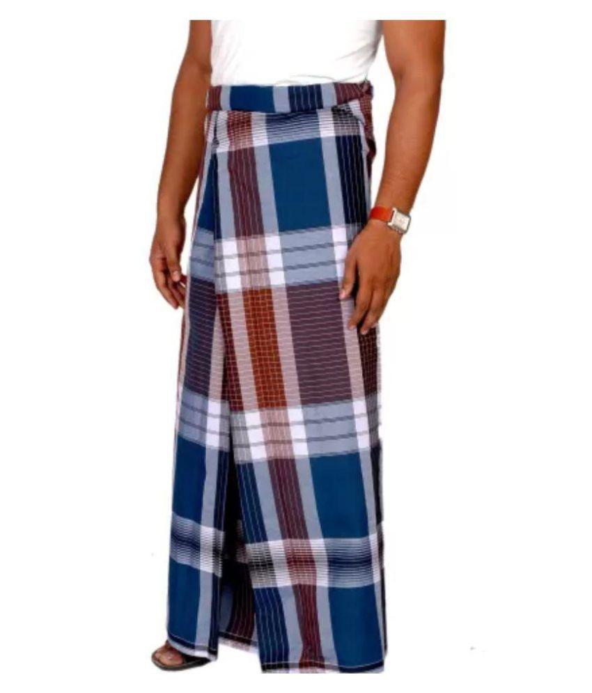 244 Black Lungi - Buy 244 Black Lungi Online at Low Price in India ...