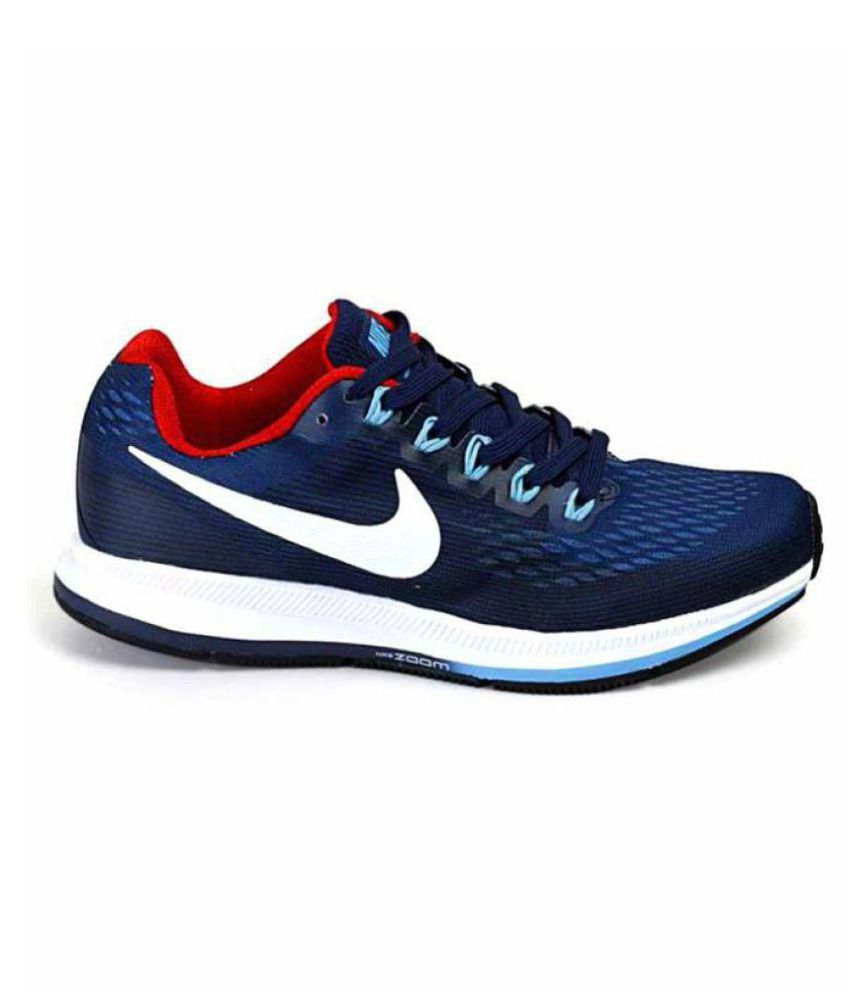 outlet store c0a6e 1440b Nike AIR ZOOM PEGASUS 34 Multi Color Running Shoes