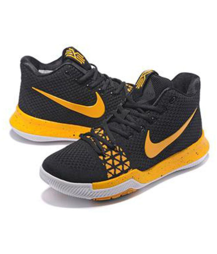 a4c528dcf6ff Nike KYRIE IRVING 3 Black Running Shoes - Buy Nike KYRIE IRVING 3 Black Running  Shoes Online at Best Prices in India on Snapdeal