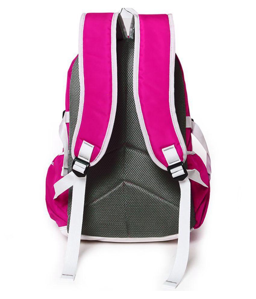 0d6ac14498f3 Bonmaro Pink Polyester College Bag - Buy Bonmaro Pink Polyester ...