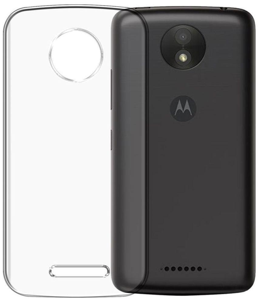 new product b4033 c0763 Motorola Moto C Plus Plain Cases PIKWAY - Transparent