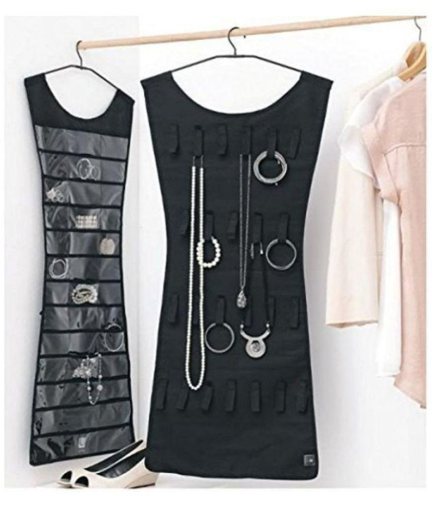 Jewelery Organizer Hanging Dress Jewellery Jewelry Bag Double Sided