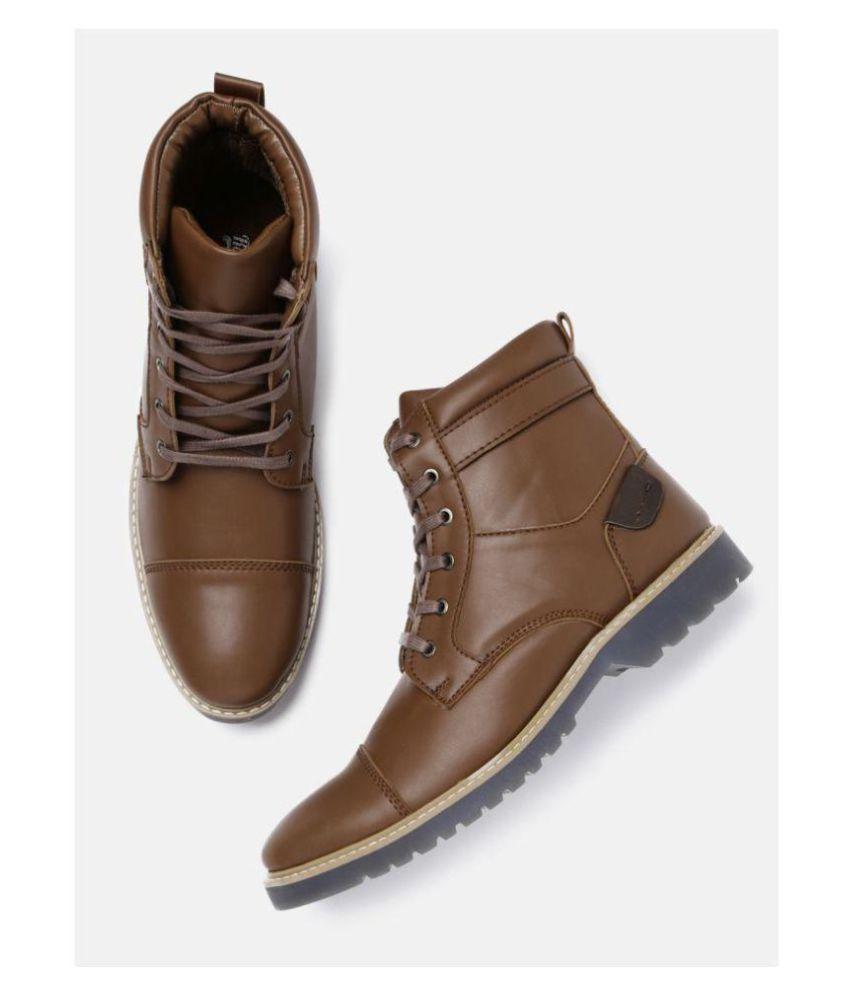 Roadster Brown Casual Boot