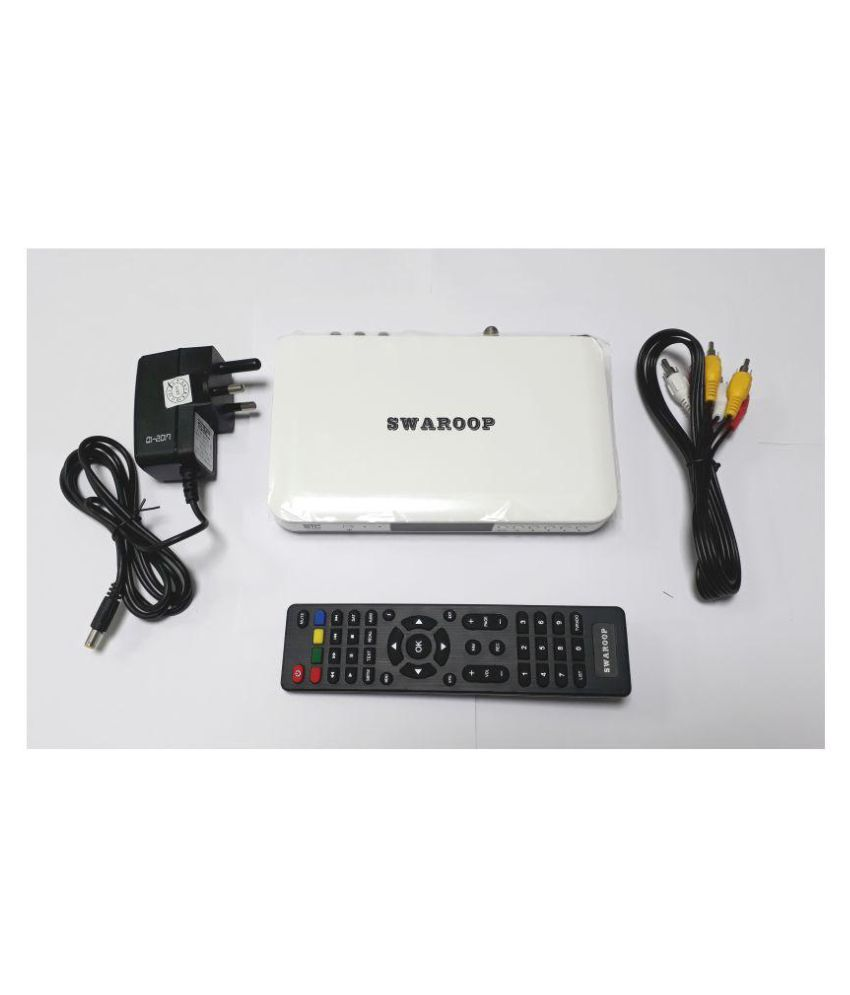 STC DTH HD WiFi Set Top Box H-500 (LIFE TIME FREE) FTA
