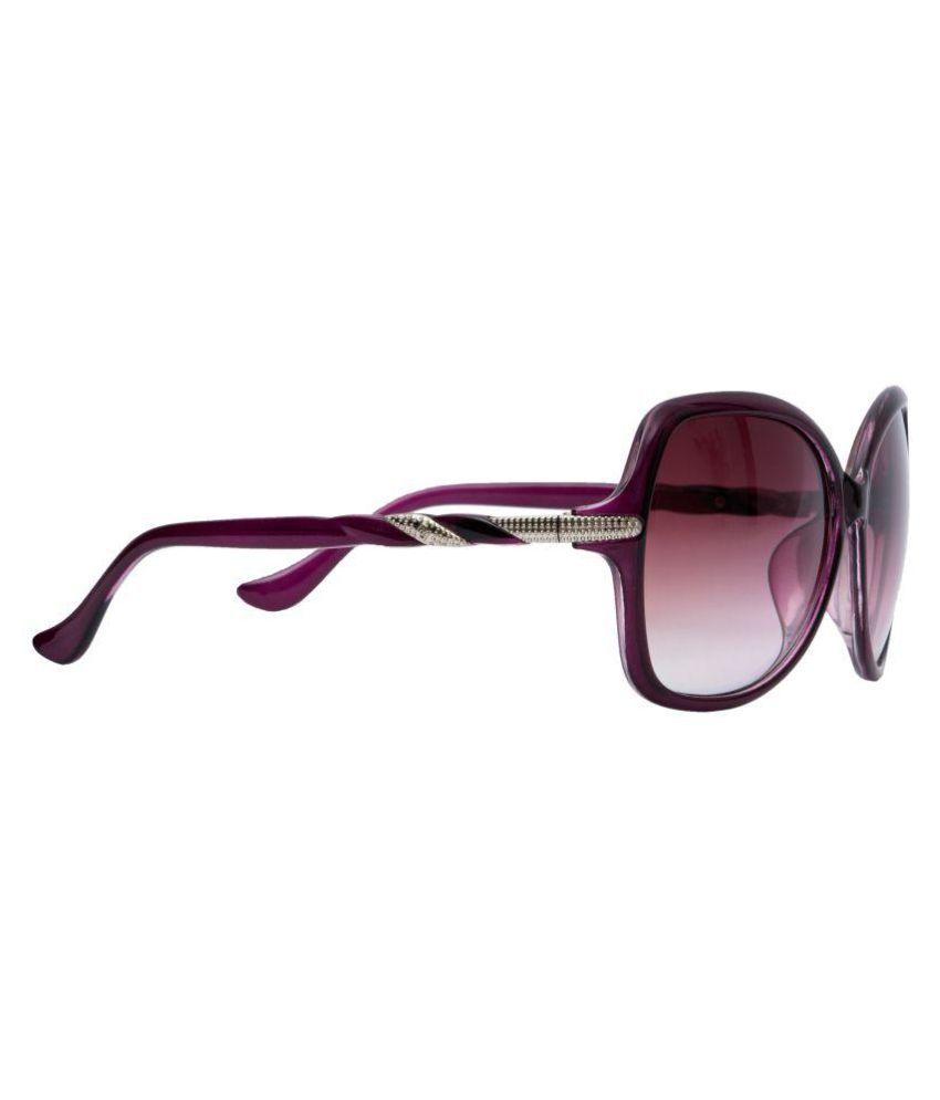 TAGGY Black Oval Sunglasses ( 0-97 )