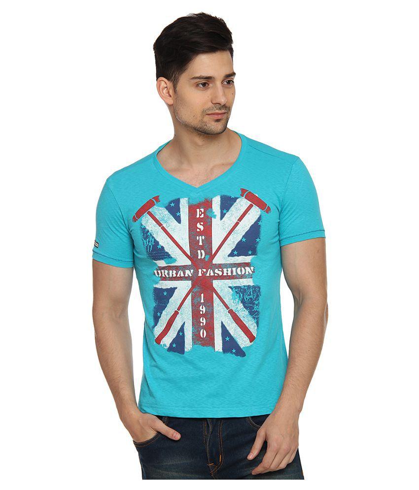 Duke Blue V-Neck T-Shirt Pack of 1