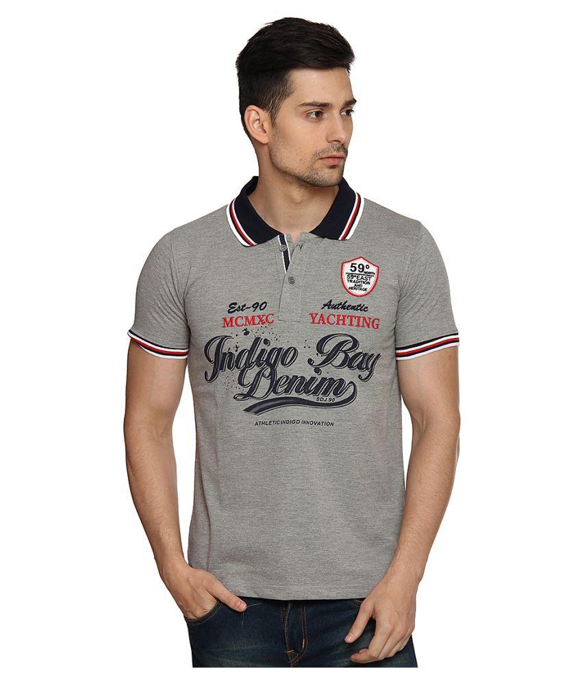 Duke Grey Round T-Shirt Pack of 1