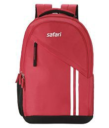 Safari Sport Backpacks Branded Backpack Laptop Bags College Bags Red (27 Litres)