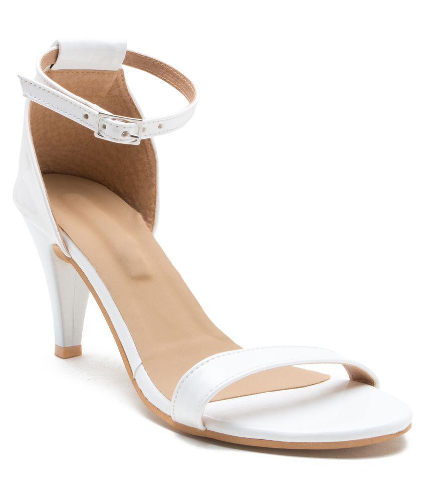 ZAIRA & SAIRA White Stiletto Heels