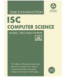 ISC Class XII Model Specimen Papers Computer Science