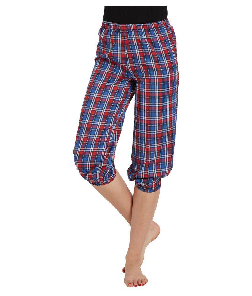 Blush By PrettySecrets Cotton Pajamas - Multi Color