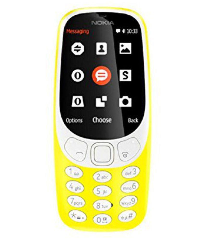 Nokia Yellow 3310 DS 32 MB