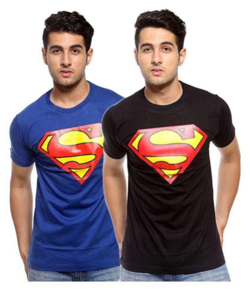T-Shirt Multi Round T-Shirt Pack of 2