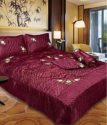 Quick View. Stark Satin Double Bedsheet ...