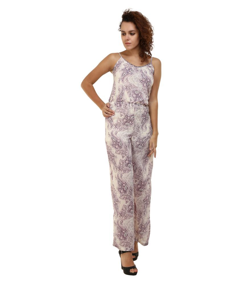 Mansi Collections Polyester Multi Color Jumpsuits