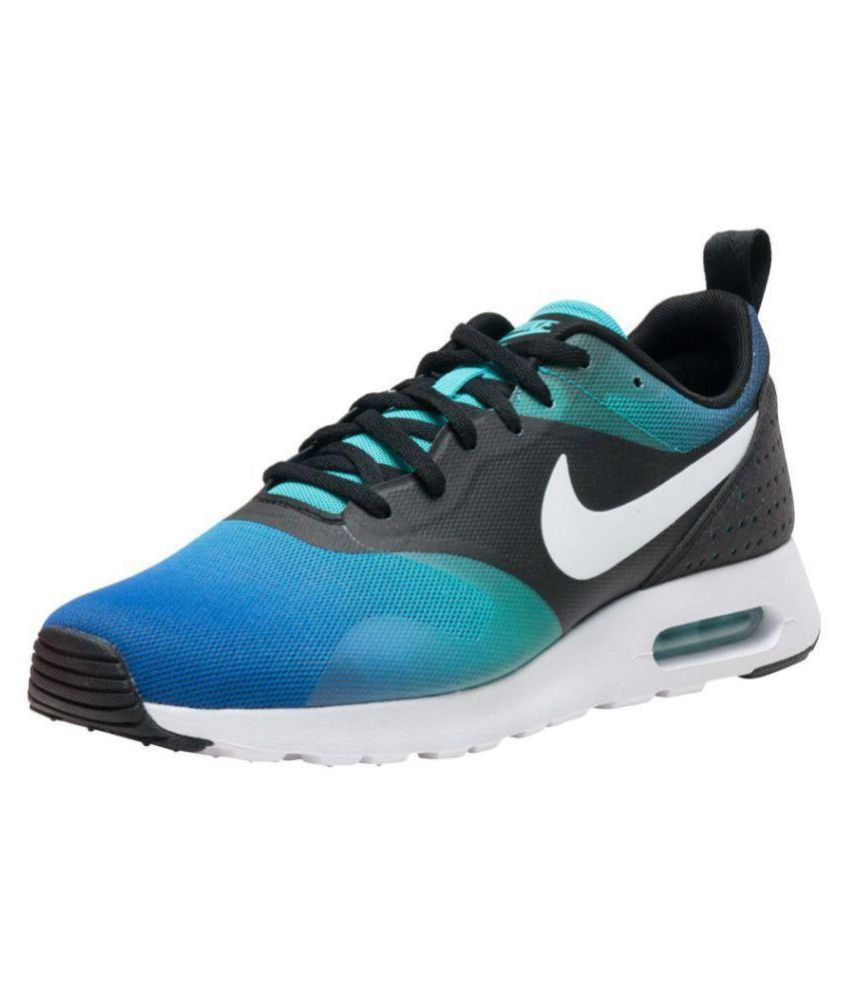 9ac0ba3dbce7 Nike Airmax Tavas Blue Running Shoes - Buy Nike Airmax Tavas Blue Running  Shoes Online at Best Prices in India on Snapdeal