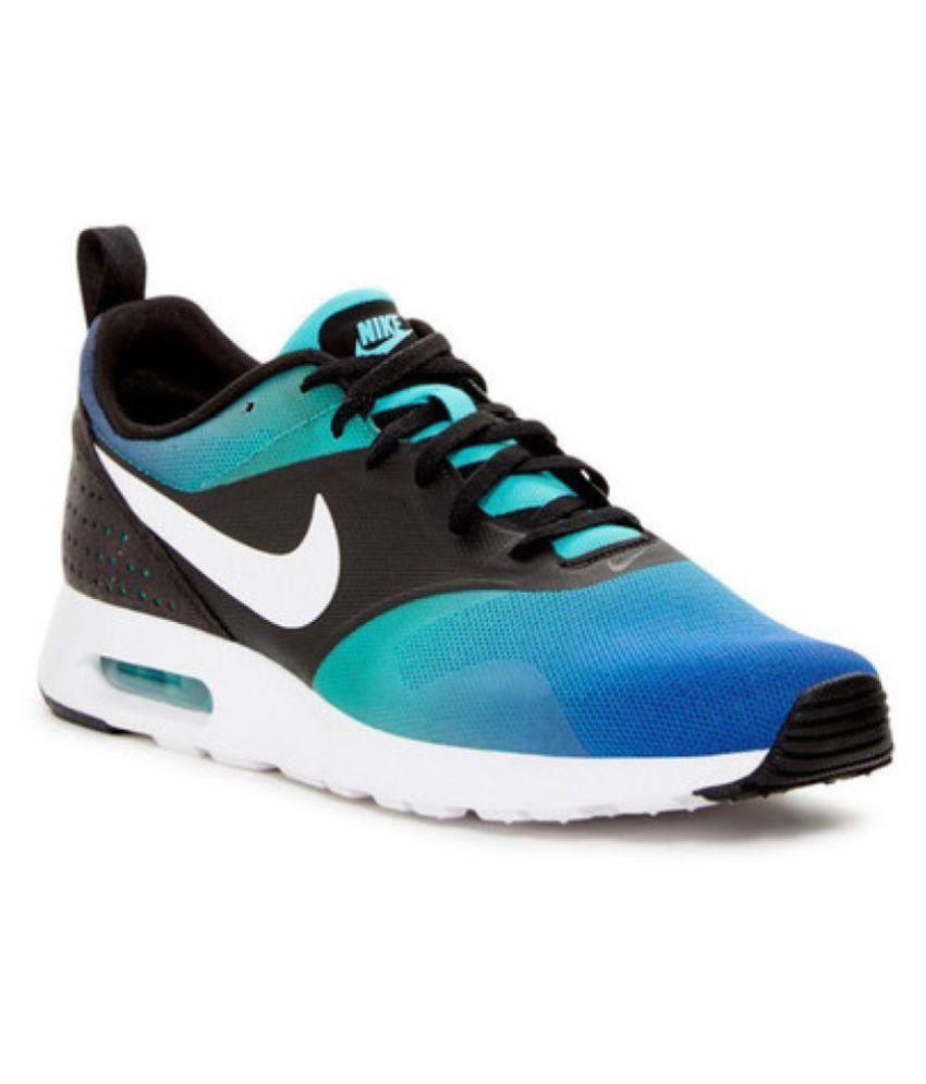 10b5c9de4773 Nike Airmax Tavas Blue Running Shoes Nike Airmax Tavas Blue Running Shoes  ...