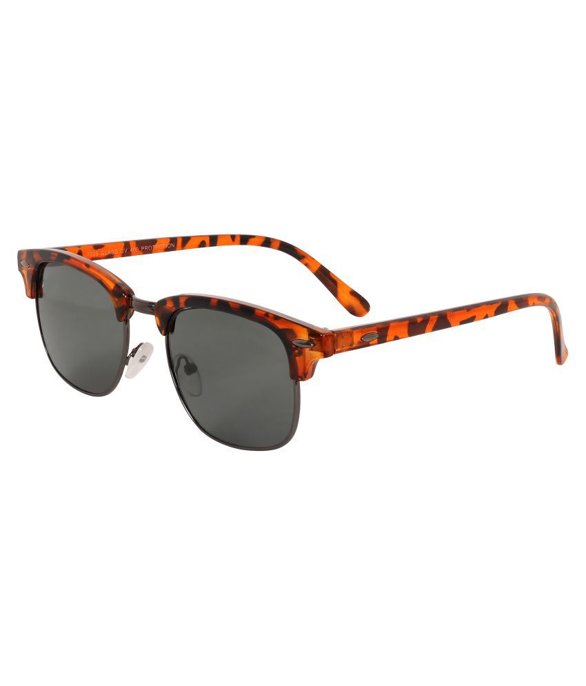 Zeqon Black Clubmaster Sunglasses ( A29CW22 )