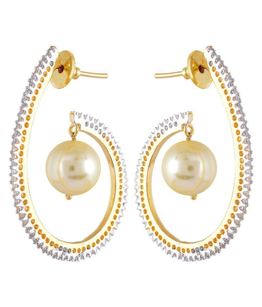 Contemporary Modern Stylish Party Wear Dangler Earring For Girls / Women