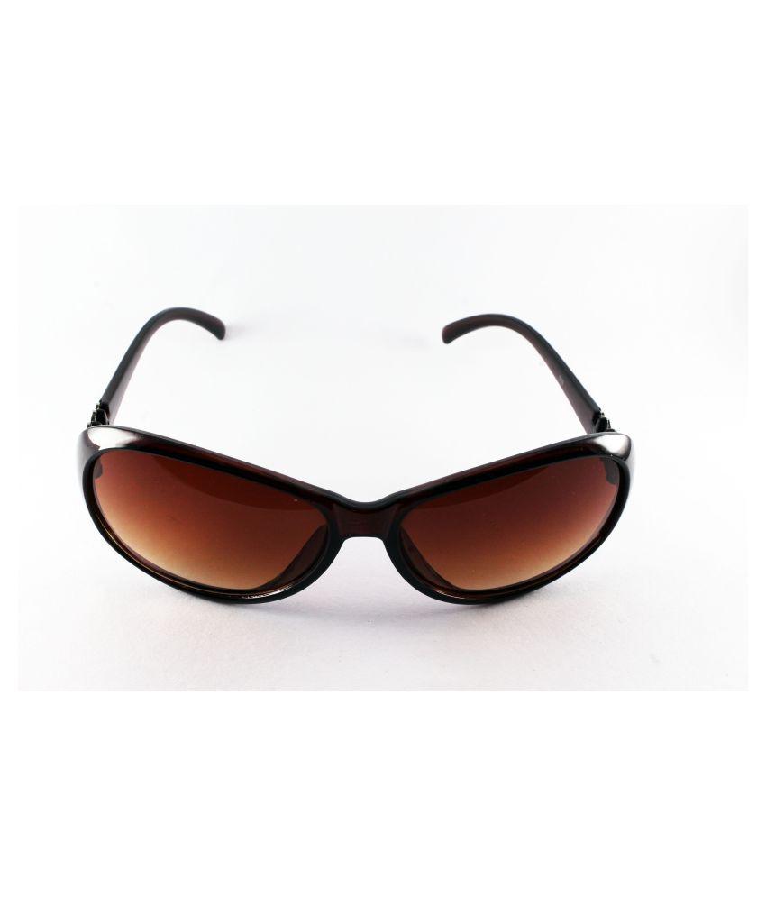 SHUBH LABH CREATION Grey Oval Sunglasses ( SHULACREGLASS214 )
