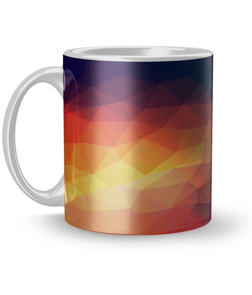 Apoorva Enterprises Ceramic Coffee Mug 1 Pcs 320 ml