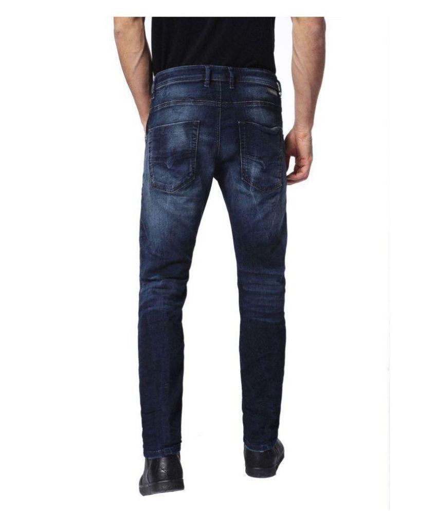Diesel Blue Straight Jeans