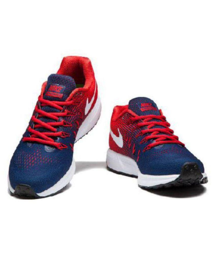 Nike Air zoom 33 pegasus Navy Running Shoes ...