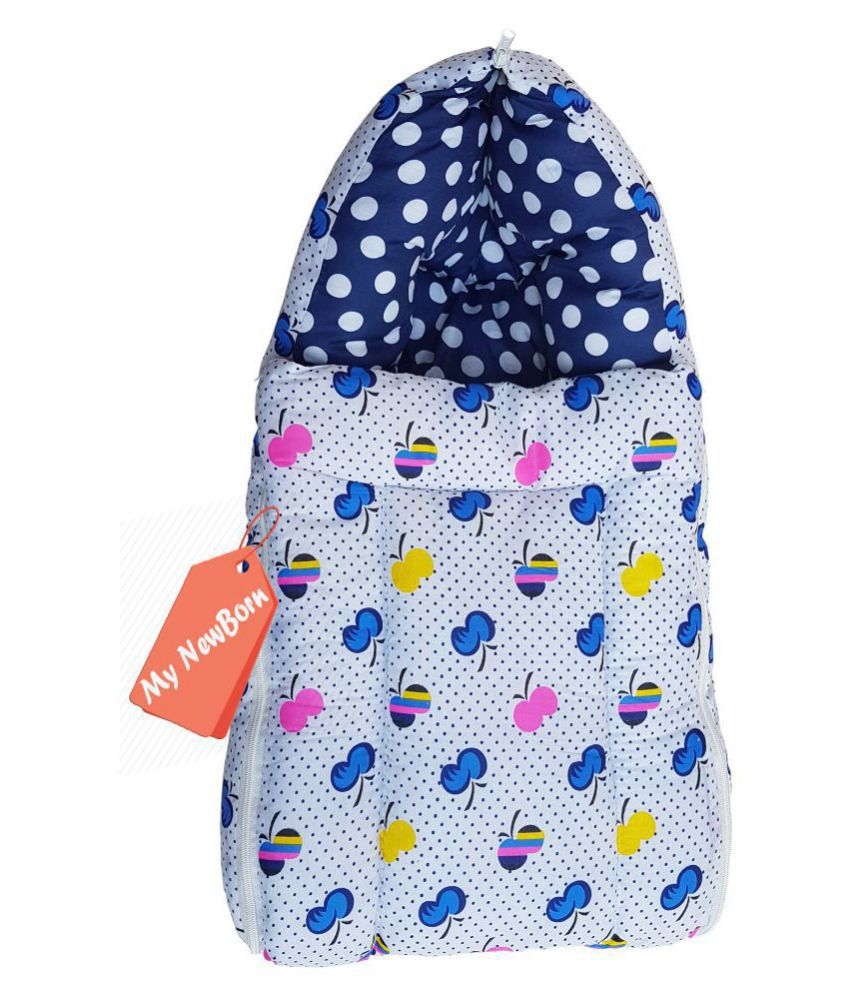 My NewBorn Multi-Colour Cotton Sleeping Bags ( 55 cm × 22 cm)
