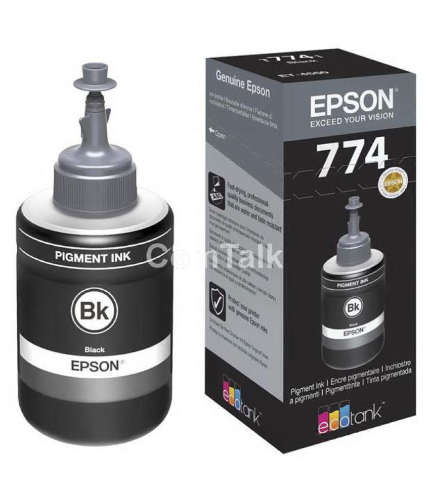 HK Epson T7741 INK Black Single Ink bottle for Epson M100  amp; M200