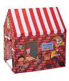 MR Enterprise My Pizza Shop Tent House For Kids (Multicolor)