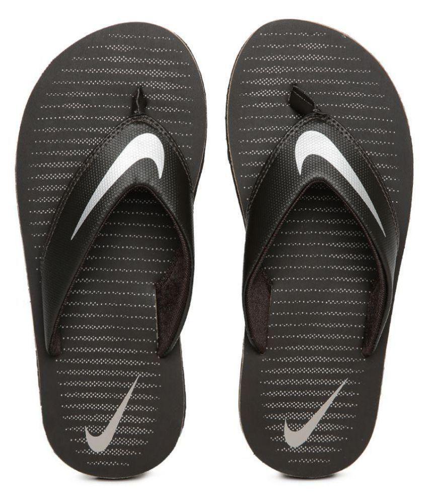 3f34c2c8bb67 Nike Chroma Thong 5 Black Thong Flip Flop Price in India- Buy Nike Chroma  Thong 5 Black Thong Flip Flop Online at Snapdeal