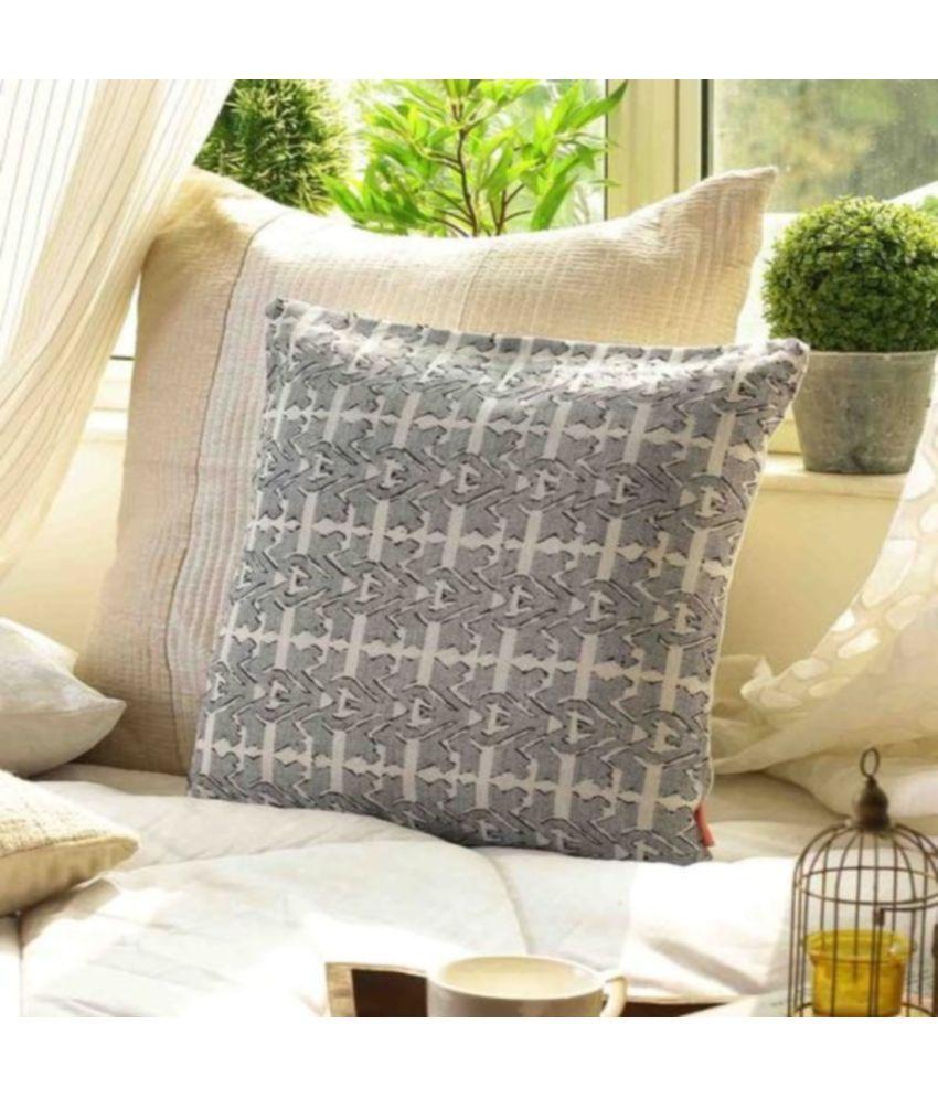 SOLAJ Single Cotton Cushion Covers 40X40 cm (16X16)