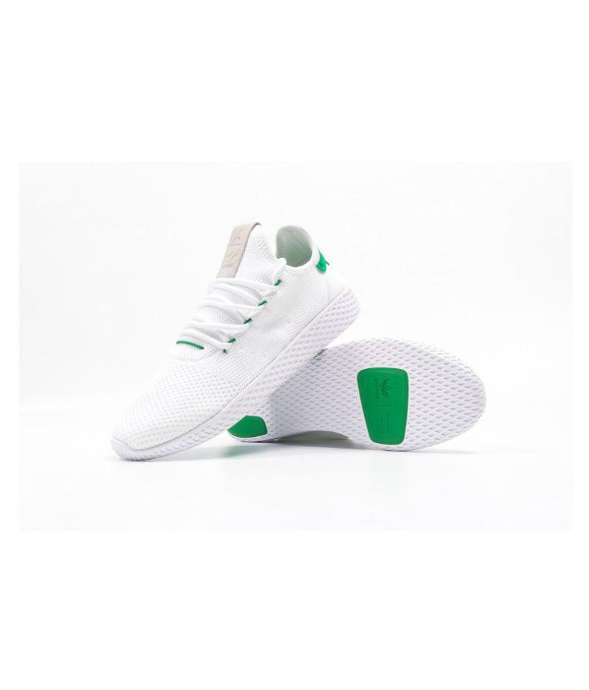 53d9ee2c1621c Adidas Pharrell Williams White Casual Shoes - Buy Adidas Pharrell Williams  White Casual Shoes Online at Best Prices in India on Snapdeal