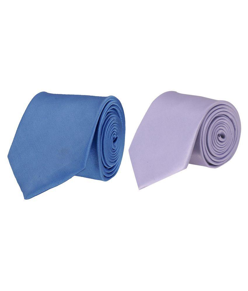 Tiekart Multi Plain Polyester Necktie