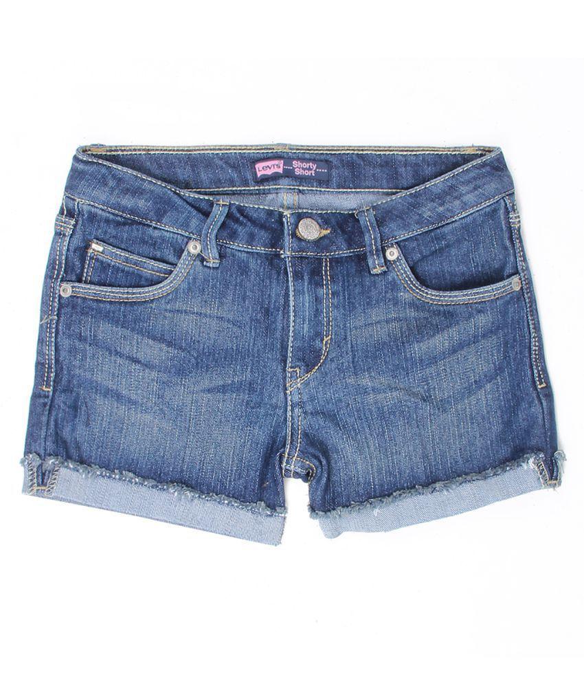 Levi's Girls Blue Short