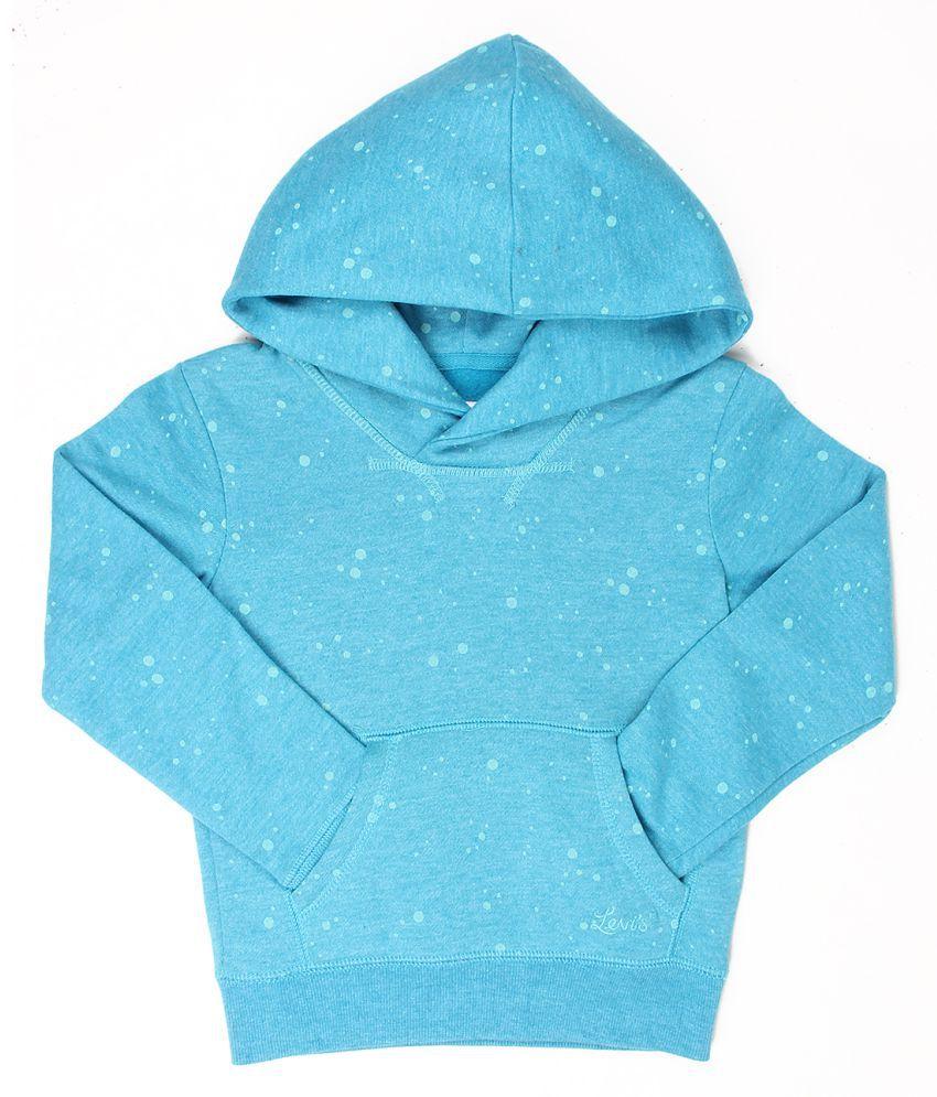 Levi's Girls Blue Sweat Shirt