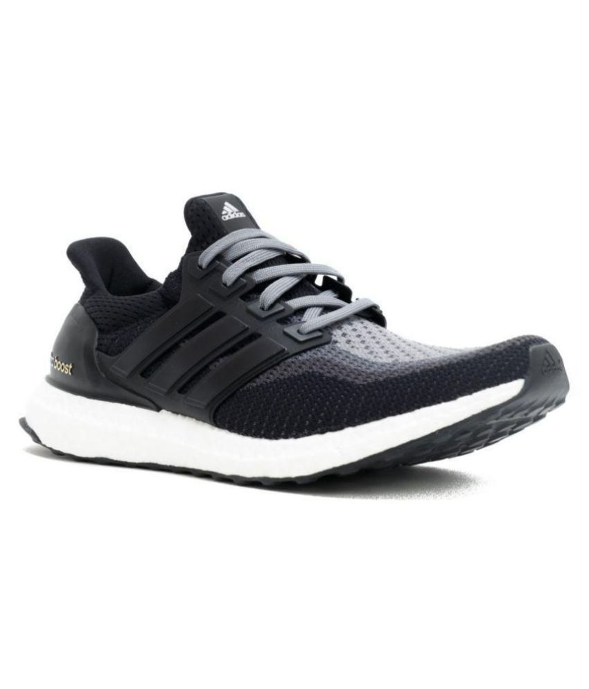 e42a73c65 Adidas Ultra Boost Black Running Shoes - Buy Adidas Ultra Boost Black Running  Shoes Online at Best Prices in India on Snapdeal