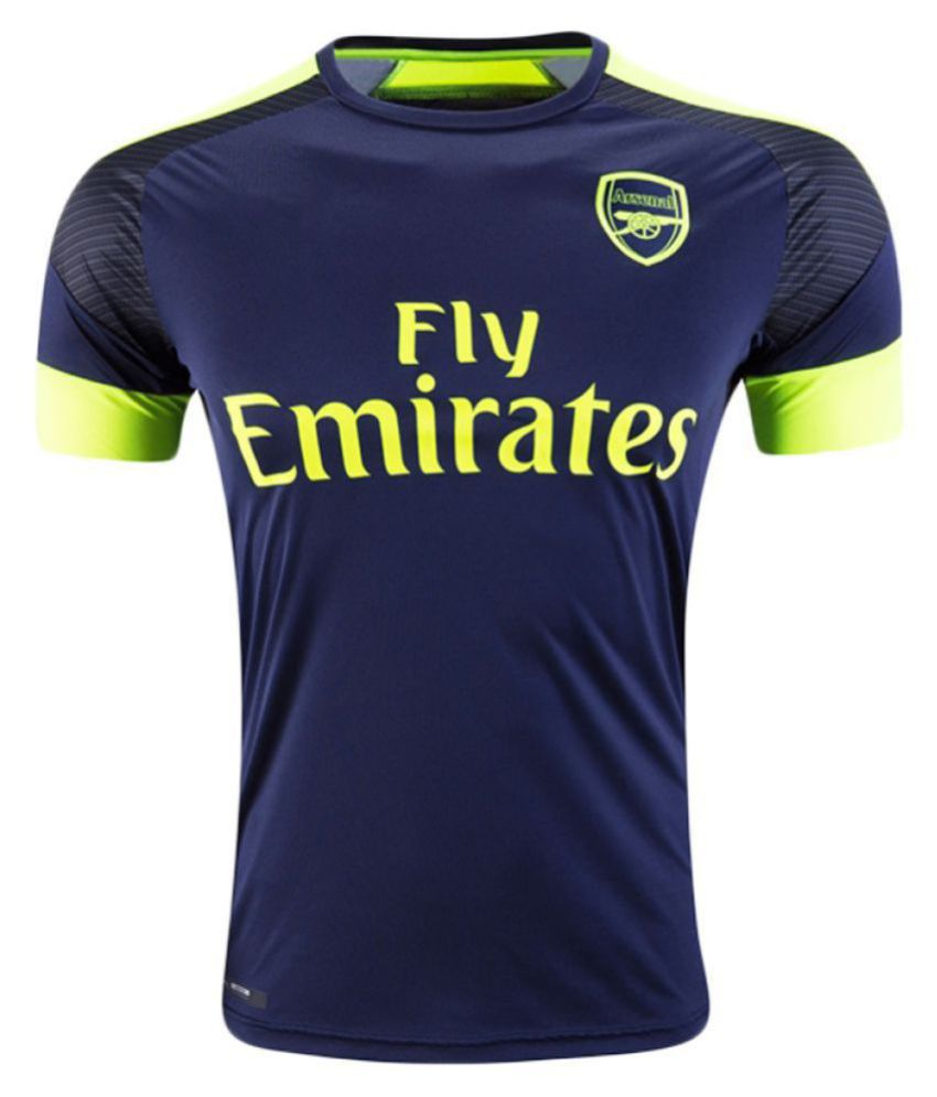 Arsenal F.C. Navy Polyester Jersey