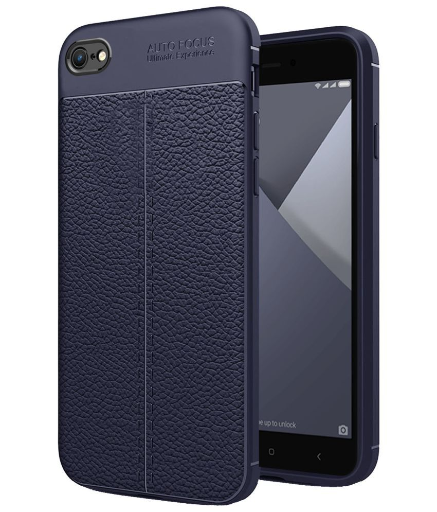 Xiaomi Redmi Y1 Lite Plain Cases Hupshy - Blue