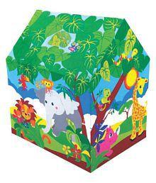 Kirat Colorfull Safari Play Tent House for Kids