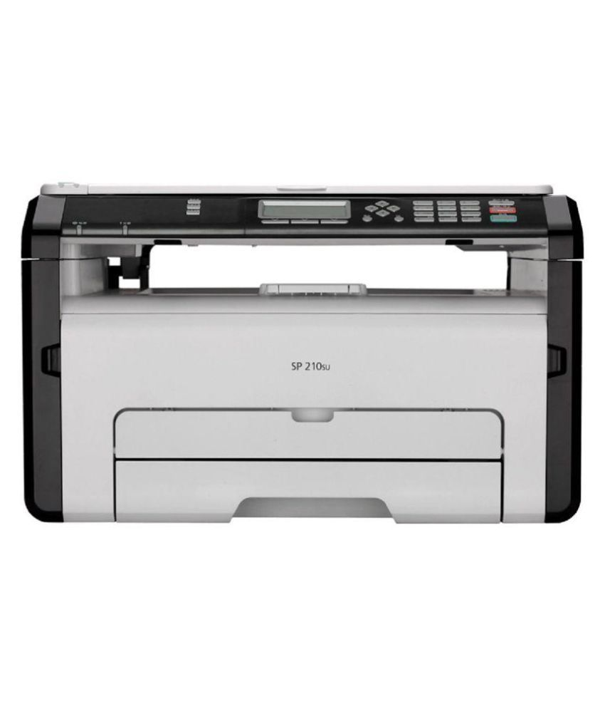 Ricoh SP 210SU Multifunction Laser Printer With 128 MB Memory (Print Copy Scan & Scan to USB Feature)