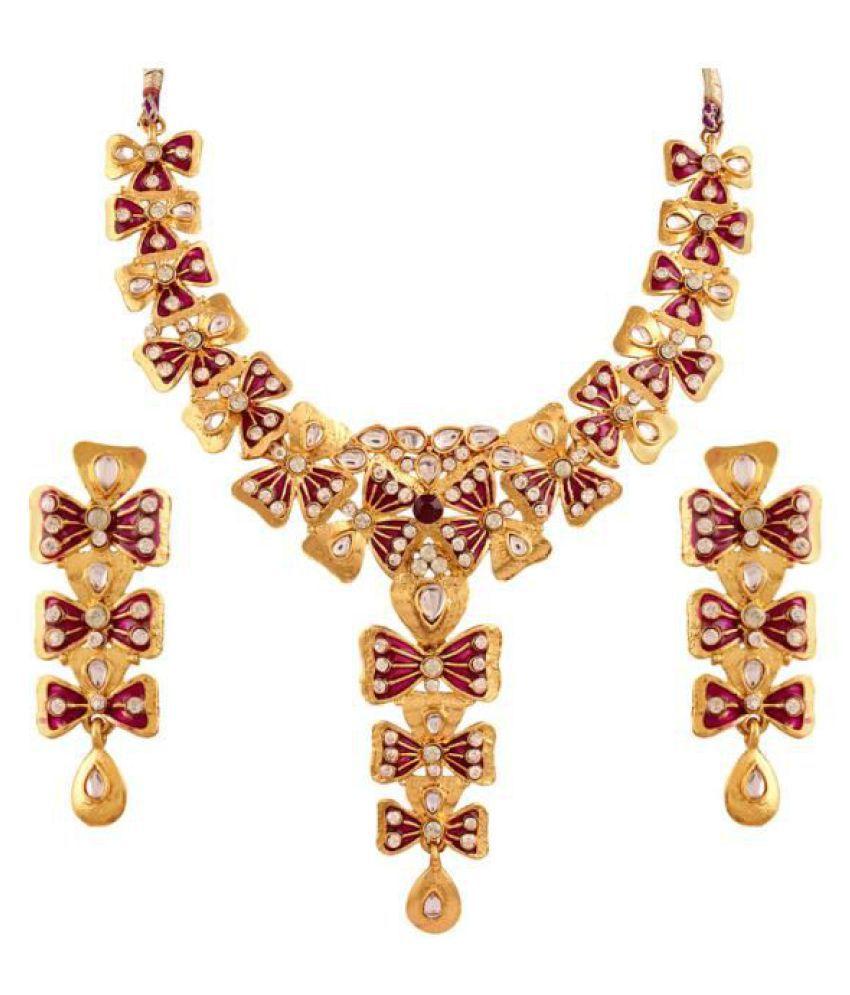 Variation Multicolour Necklace Set