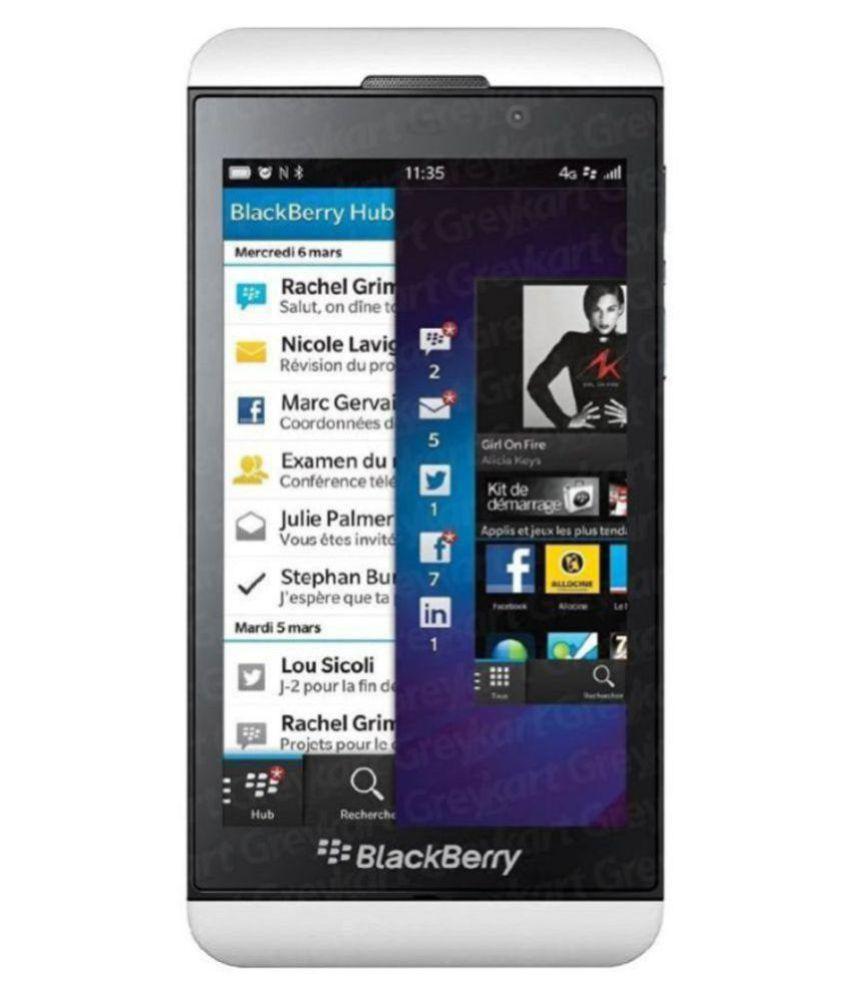 BlackBerry Z10 Smart Phone White