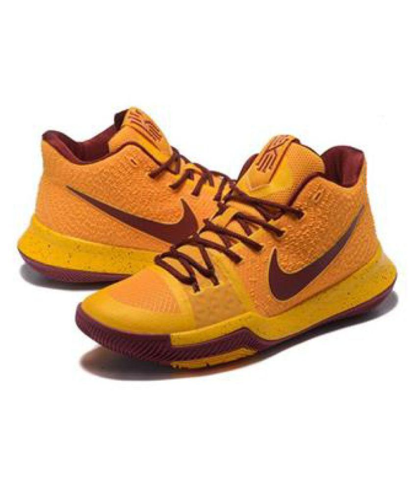 wholesale dealer 292c8 6791c Nike KYRIE IRVING 3 Yellow Running Shoes - Buy Nike KYRIE ...