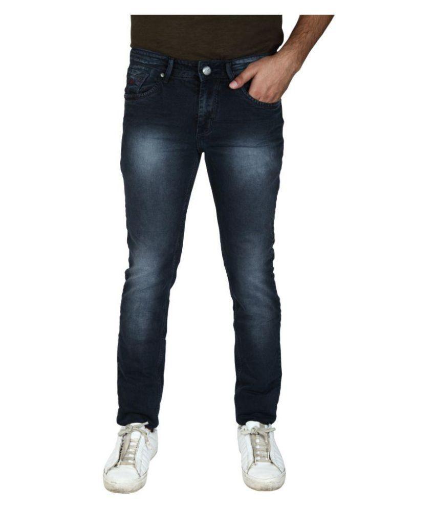 Hasasi Denim Dark Blue Slim Jeans