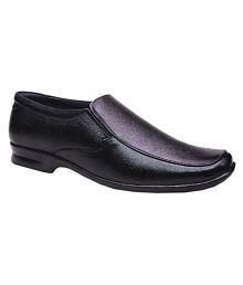 Bata Office Genuine Leather Black Formal Shoes